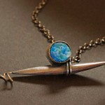 Copper, Glass, Silver and Brass - $175