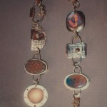 Silver, Enamel, Glass, Copper and Coin (right) - $195/each