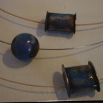 Copper, Enamel and Piano Wire - $90/each