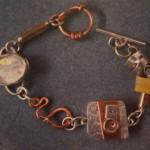 Silver, Copper and Glass - $195